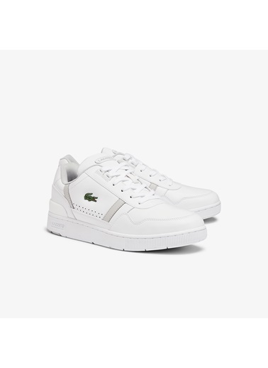 Lacoste Erkek T-Clip 0721 2 Sma Sneakers 741SMA0023.14X Beyaz